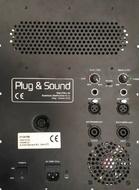 Módulo Amplificador 2.1 Profissional 1000W RMS
