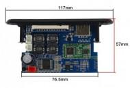 Player Módulo Bluetooth / SD / USB - Amplificado 50W RMS