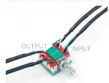 Potenciometro 50K com placa Quadruplo com fios