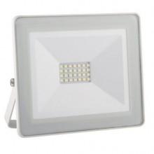 Projector LED IP65 Branco Frio 6000K 20W (Aluminio Branco)