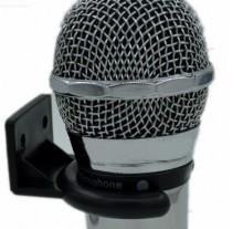 Suporte Universal p/ Microfone c/Fio Rack / Parede