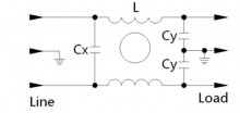 Tomada Macho IECC com filtro 10 amperes