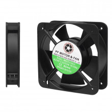 Ventilador Metálico 220V AC 120x120x25mm
