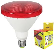 Lampada LED 220V PAR38 E27 15W Vermelho 1200Lm IP65 (Exterior) - EDM