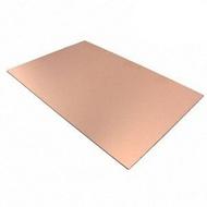 Placa de circuito impresso cobre dulpa face 15x10 cm vetronite