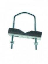 Abraçadeira metálica para antenas Ø 25-42 MM