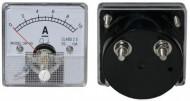 Amperímetro de Painel 10A DC - 51 x 51 mm