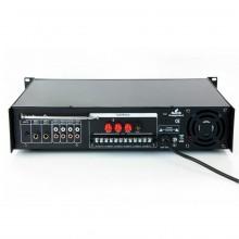 Amplificador de Linha 350W RMS - Misturador PA com leitor MP3 e rádio FM Bluetooth