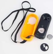 Anemómetro e termómetro digital portátil