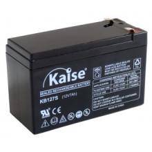 Bateria Chumbo 12V 7Ah (151 x 65 x 100 mm) - Kaise