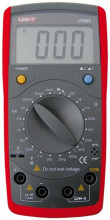 Capacimetro, Medidor Indutâncias e Ohmimetro Digital - UNI-T
