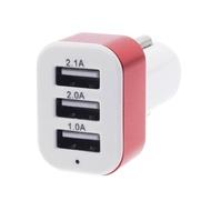 Carrrgador Universal 12V e 24V Para 5V - 3 saidas USB Para telemóvel e GPS