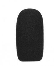 Esponja para microfone mini preto 48x25x12 milímetros