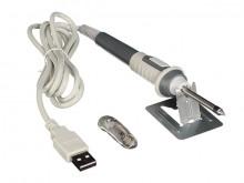 FERRO DE SOLDAR USB com suporte