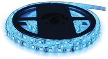 Fita 300 LEDs SMD 3528 Flexivel IP65 Azul 12V - 5 mts