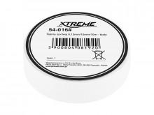 Fita adesiva de isolamento 0,13mm / 15mm / 10m - branco