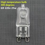 Lâmpada G9 Alta Temperatura para Fornos