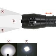 Lanterna 380LM Alumínio à Prova de Água Zoomável