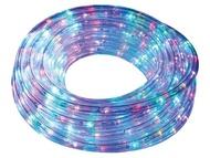 Mangueira Luminosa LEDs Multicor Controlador 8 metros