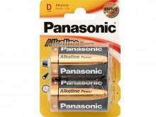 Pilha Alcalina 2x LR20 / D - Panasonic