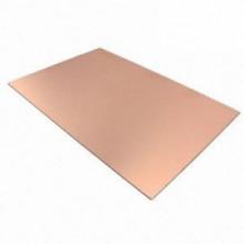 Placa de circuito impresso cobre simples face 80x215 mm
