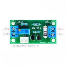 Placa de Controlo Automático de Velocidade de Ventilador em função da Temperatura