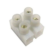 Bloco de terminais '' Mammuth '' 2 pólos para cabos eléctricos 4 milimetros