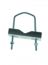 Abraçadeira metálica para antenas Ø 25-65 MM