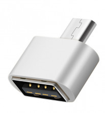 Adaptador USB Macho / Micro USB B 2.0 Fêmea