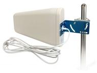 Antena WIFI + GSM + UMTS logarítmica alta performance 800-2500 MHz c/ Proteção