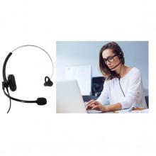 Auscultador c/ Microfone p/ Aplicações Multimédia-Telefone