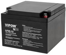 Bateria Chumbo 12V 26Ah (174x165x125 mm) - VIPOW