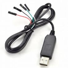 Cabo Adaptador Conversor USB Para UART TTL RS232 PL2303HX