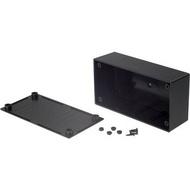 Caixa de plástico 130 x 68 x 44 mm Black ABS