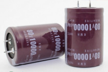 Condensador eletrolitico 10000uF 80V 105 Graus