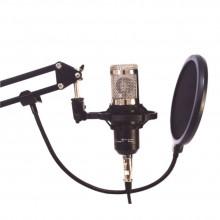 Conjunto com Microfone Condensador De Estúdio LTC