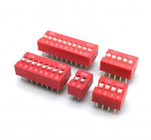 Dip Switch Módulo de 1 e duas vias 2.54mm