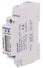 Medidor Digital de Custos de Energia Porta RS-485 p/ Calha DIN (Monofásico) 5(80)A - ORNO