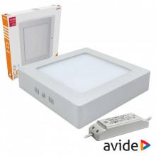 Painel de LED Superficie Quadrado (22 x 22 cm) 18W 4000K 1490Lm