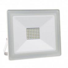 Projector LED Slim IP65 220VAC Branco 4000K 100W 7000Lm (Branco)