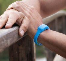 Pulseira Anti-Mosquitos de Citronela (Azul)