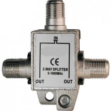 Spliter Derivador Terrestre 2 Vias 5-1000Mhz