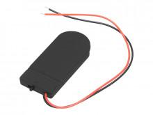 Suporte para 2 pilhas CR2032 + interruptor