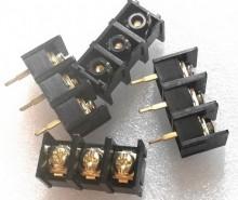 Terminal peça 3 pinos 10mm para CI
