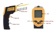 Termómetro Infravermelho -50ºC a 380ºC - AS530