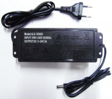 Transformador DC regulável de 3 a 24V - 60W