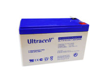 Bateria Chumbo 12V 7,5Ah (150 x 63 x 95 mm) - Ultracell