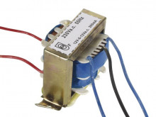 Transformador AC 12+12V 0.3A