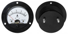 Amperímetro Redondo de Painel 5A DC - ProFTC