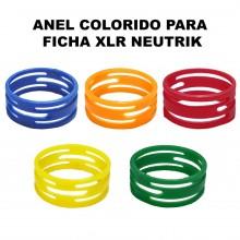 Anel Colorido para Ficha XLR Neutrik